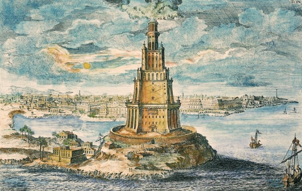 The Pharos Lighthouse of Alexandria
