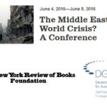 The Middle East: World Crisis? A Conference