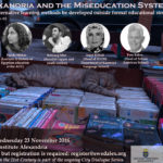 Alexandria and the Miseducation System (Third symposium of the City Dialogue Series)